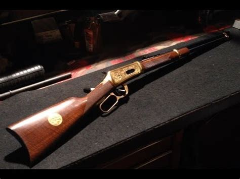 Winchester model 94 antlered game commemorative - YouTube