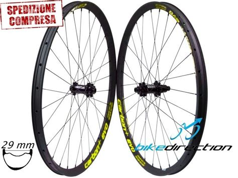 Ruote in carbonio MTB 29er HookLess Carbon+ EVO XL35-29