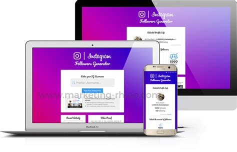 [GET] Premium Instagram Followers Landing Page for CPA