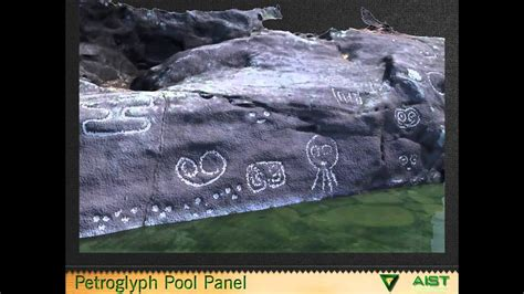3D Model of the Petroglyph Pool Area Carvings at the