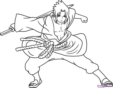 Naruto Coloring Pages - GetColoringPages