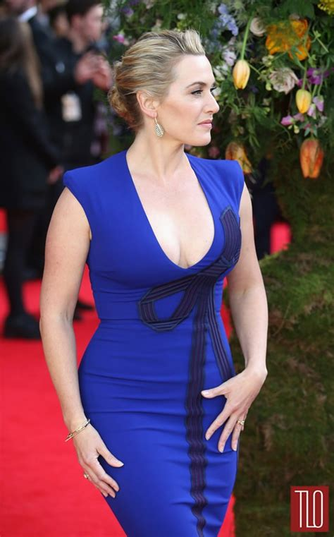 """Kate Winslet in Stella McCartney at the """"A Little Chaos"""