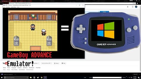 GameBoy Advance Emulator for PC! - mGBA install and