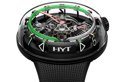 SIHH 2018: HYT H²O Limited Edition Watches - watchuseek