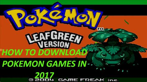 How To Download Pokemon Games On PC! - YouTube