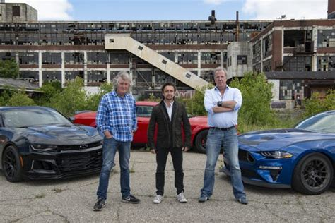 Detroit and muscle cars star in 'Grand Tour' season opener