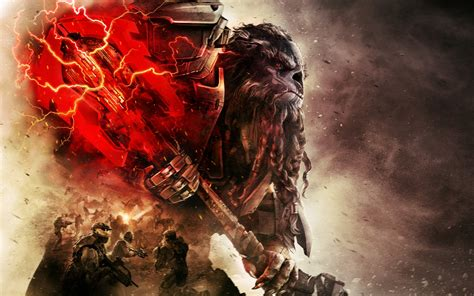 Wallpaper Halo Wars 2, Xbox One, PC, 2017 Games, HD, Games