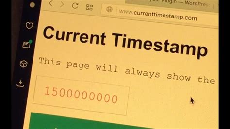 The Unix Time Stamp Hits 1500000000 - YouTube