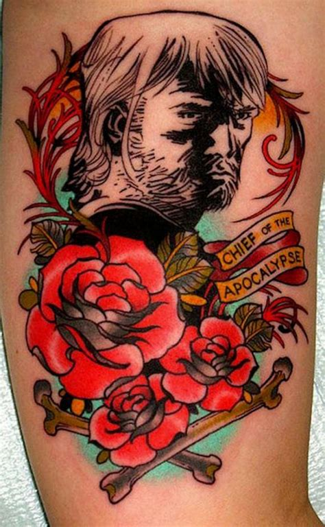 It's Scary How Good These Walking Dead Tattoos Are - Barnorama