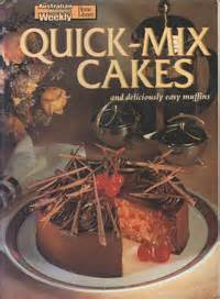 AWW Quick Mix Cakes - Australian Womens Weekly Used